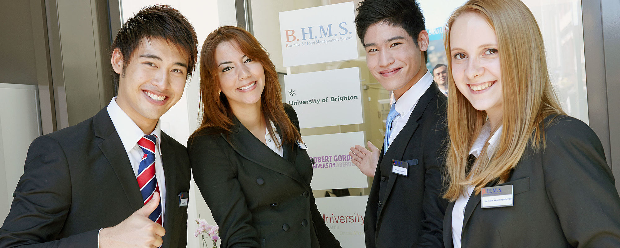 Business & Hotel Management B.H.M.S., Switzerland Lucerne